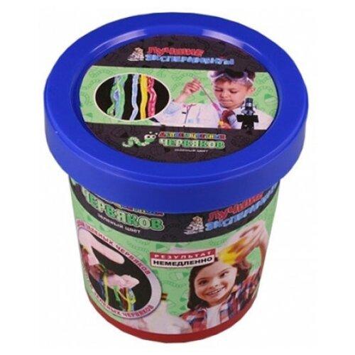 Купить Набор Qiddycome Делаем цветных червяков зеленый, Наборы для исследований