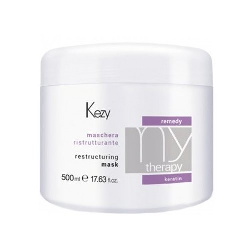 Купить KEZY Mytherapy Маска для волос реструктурирующая с кератином, 500 мл