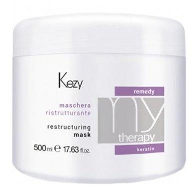 KEZY Mytherapy Маска для волос реструктурирующая с кератином