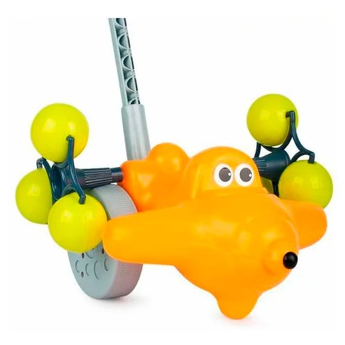 Каталка-игрушка Росигрушка Самолетик Звездочка (9274) каталка наша игрушка самолетик y360963