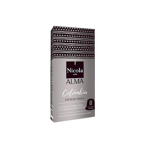 Кофе в капсулах Nicola Alma Colombia (10 шт.)Капсулы для кофемашин<br>