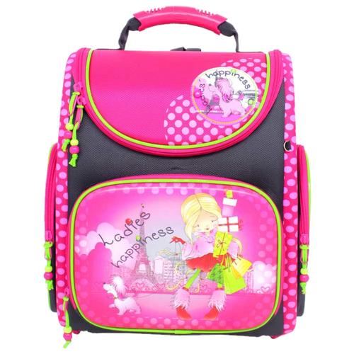 Купить Hummingbird Ранец Ladies hapiness (K106), розовый/черный, Рюкзаки, ранцы