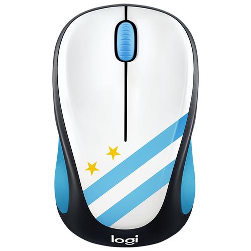 Мышь Logitech M238 Fan Collection Wireless Mice Argentina Black-White USBМыши<br>