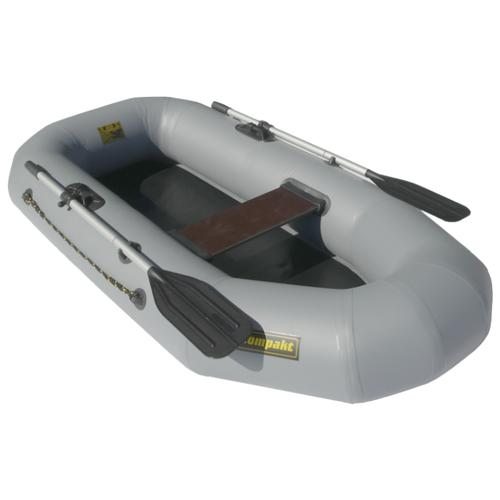 Надувная лодка Leader Компакт 210 серый надувная лодка leader компакт 200 зеленый