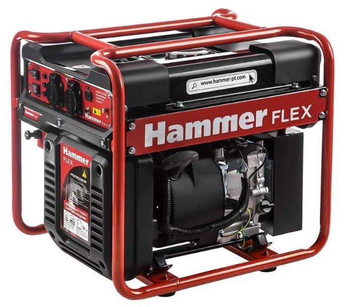 Бензиновый генератор Hammer GN3200i (2900 Вт)