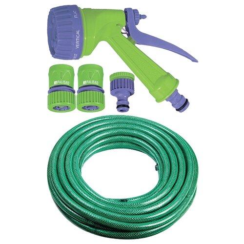 Комплект для полива PALISAD набор поливочный 3/4 25 метров зеленый 24 pcs electrostatic cotton anti dust air purifier filter for xiaomi mi 1 2 3 pro hepa air filter universal air purifier pm2 5