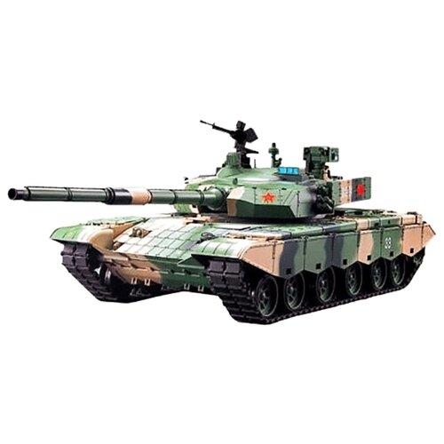 Танк Heng Long ZTZ-99A MBT (3899A-1) 1:16 72.4 см камуфляж радиоуправляемый танк heng long ztz 99a mbt масштаб 1 16 40mhz