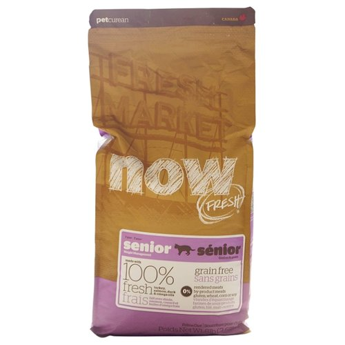 Корм для кошек NOW FRESH (3.63 кг) Grain Free Senior Cat Food RecipeКорма для кошек<br>