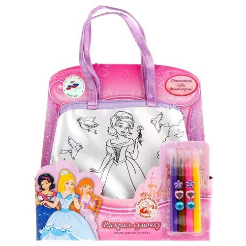 Купить MultiArt Набор для росписи сумки Принцессы (B1525859-PR), Роспись предметов