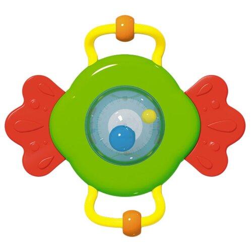 Купить Прорезыватель-погремушка Стеллар Батискаф зеленый/красный/желтый, Погремушки и прорезыватели