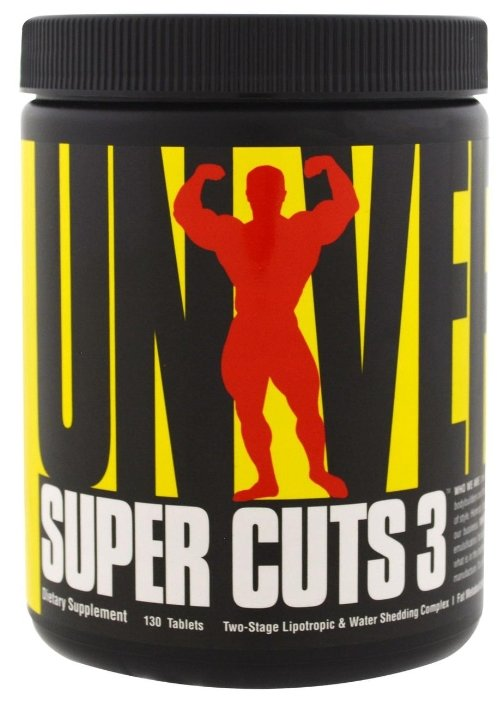 Universal Nutrition липотропик Super Cuts 3 (130 шт.)