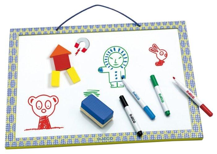 Доска для рисования детская DJECO магнитная (03140)