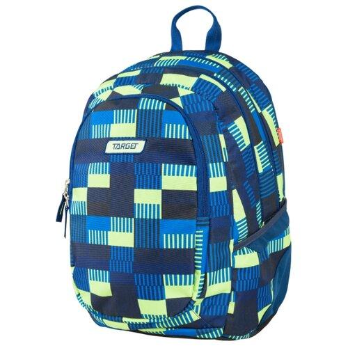 Купить Target Рюкзак 3 zip Allover (21421), голубой/зеленый, Рюкзаки, ранцы
