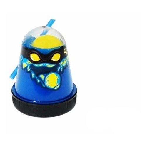 Лизун SLIME Ninja 2 в 1 смешивай цвета, синий и желтый, 130 г (S130-1)