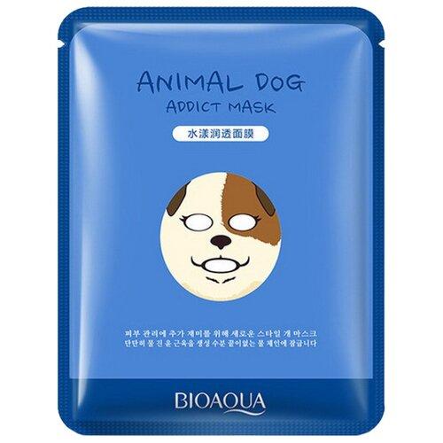 BioAqua Увлажняющая тканевая маска Animal Face Dog, 30 г увлажняющая маска bioaqua увлажняющая маска