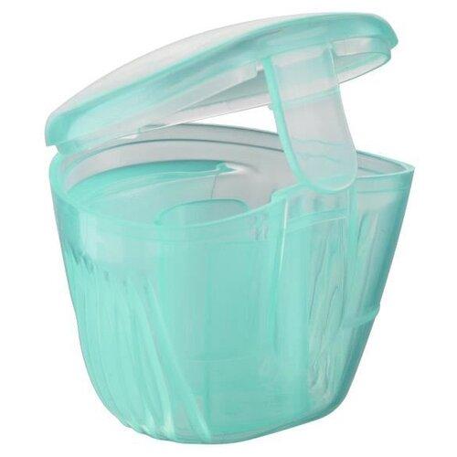 Купить Футляр для пустышек Bebe confort 2 в 1 0-36 м, голубой, Пустышки и аксессуары