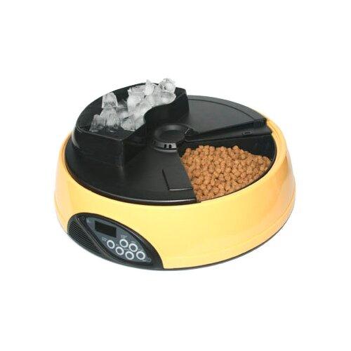 Автокормушка Feed-Ex для кошек и собак PF1 2 л желтый/черный по цене 3 500