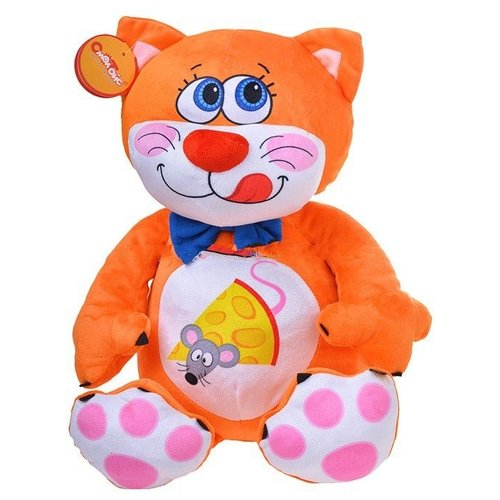 Купить Мягкая игрушка СмолТойс Котёнок Барсик 29 см, Мягкие игрушки
