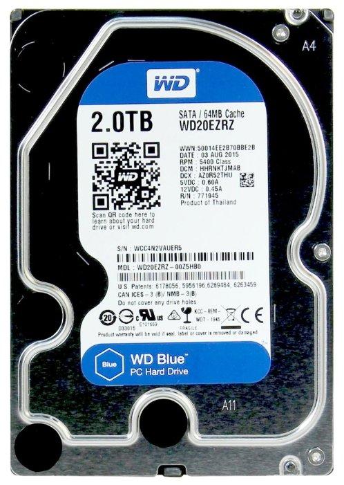 Western Digital WD Blue Desktop 2 TB (WD20EZRZ)