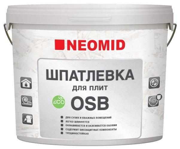 Шпатлевка NEOMID для плит ОSB