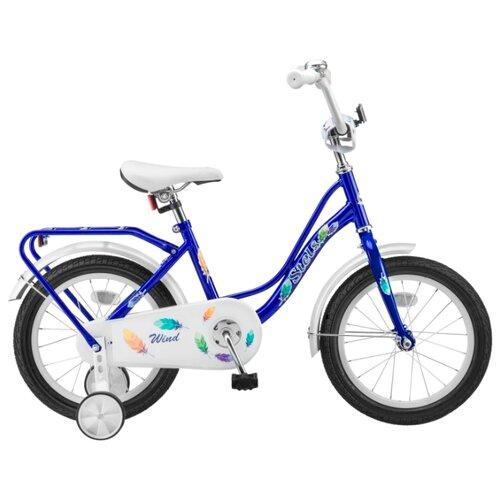 Детский велосипед STELS Wind 16 Z010 (2018) синий 11
