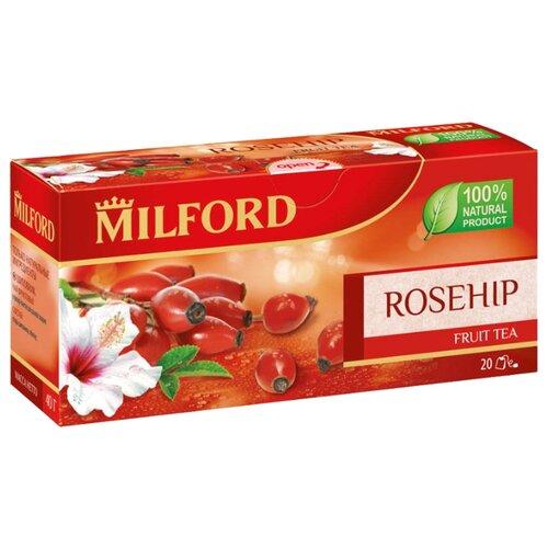 Чай красный Milford Rosehip в пакетиках, 20 шт.Чай<br>