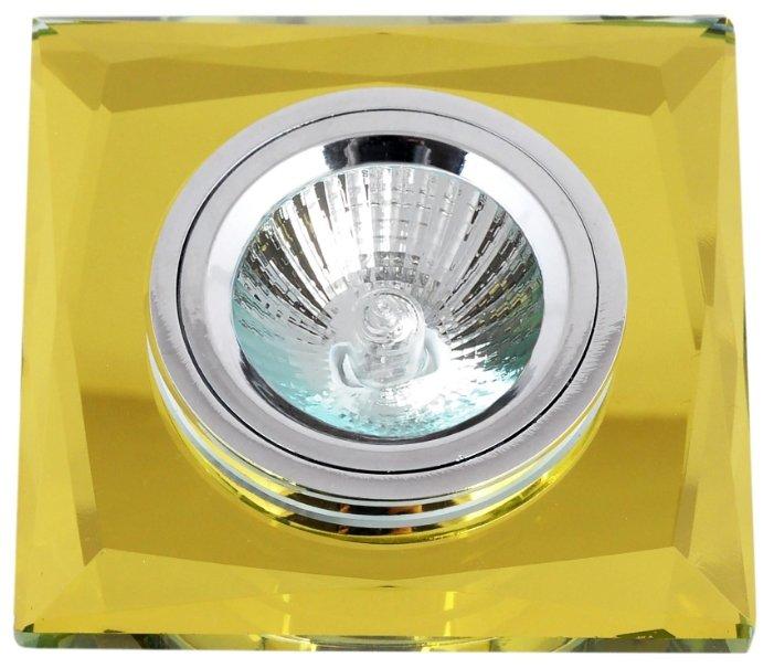 Встраиваемый светильник De Fran FT 848-2 y, желтое стекло