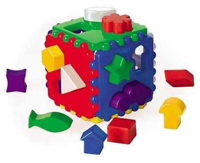 Сортер Рыжий кот Логический куб большой И-3929