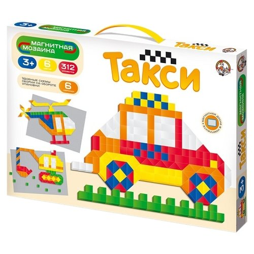 Купить Десятое королевство Магнитная мозаика Такси (01651), Мозаика