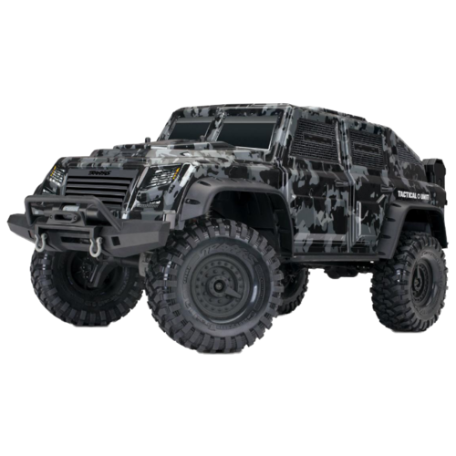 Купить Внедорожник Traxxas Tactical Unit (TRA82066-4) 1:10 58.6 см черный/серый, Радиоуправляемые игрушки
