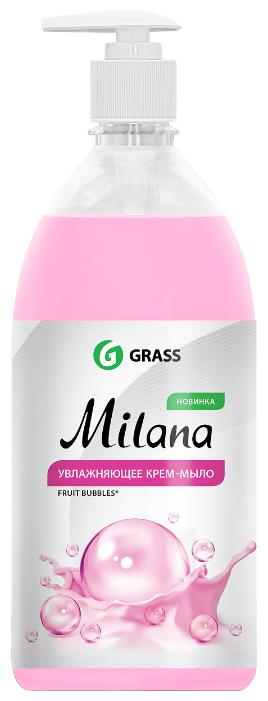 Крем-мыло жидкое Grass Milana Fruit Bubbles