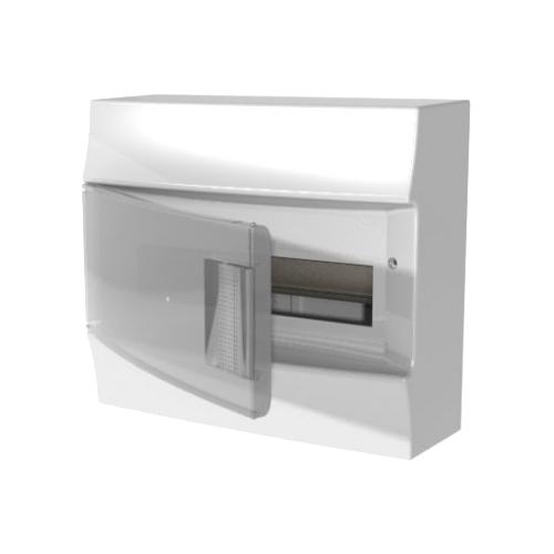 Щит распределительный ABB 1SPE007717F9992 навесной, пластик, модулей 12 белый