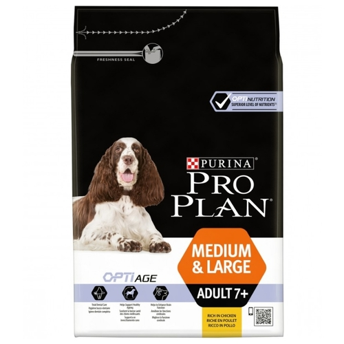 Корм для собак Purina Pro Plan Medium & Large Adult 7+ сanine dry (3 кг)