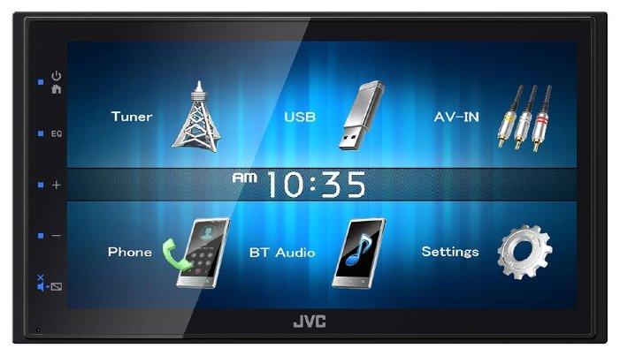 Автомагнитола JVC KW-M24BT 2DIN 4x50Вт