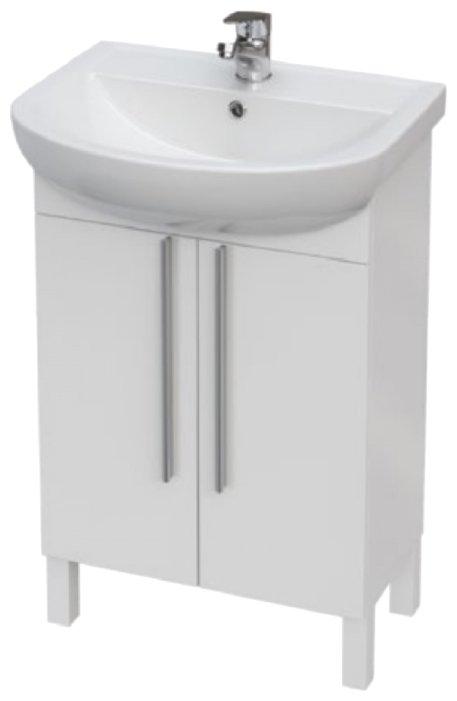 Тумба для ванной комнаты Cersanit Arteca (P-SU-ARC55-DSM/P-SU-ARC60-DSM)