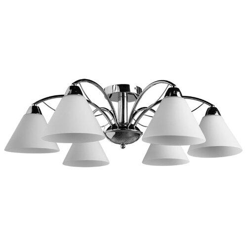 Люстра Arte Lamp Federica A1298PL-6CC, E14, 240 Вт люстра arte lamp montmartre a3239lm 6wh e14 240 вт