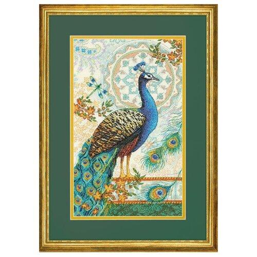 Купить Dimensions Набор для вышивания крестиком Royal Peacock 22, 8 х 38, 1 см (35339), Наборы для вышивания
