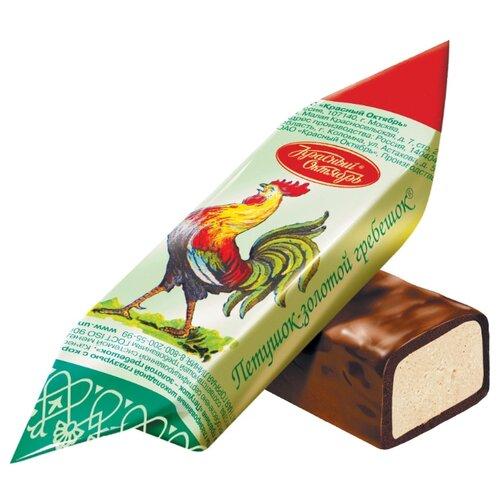 Конфеты Красный Октябрь Петушок – золотой гребешок, пакет 1000 г конфеты красный октябрь маска пакет 500 г