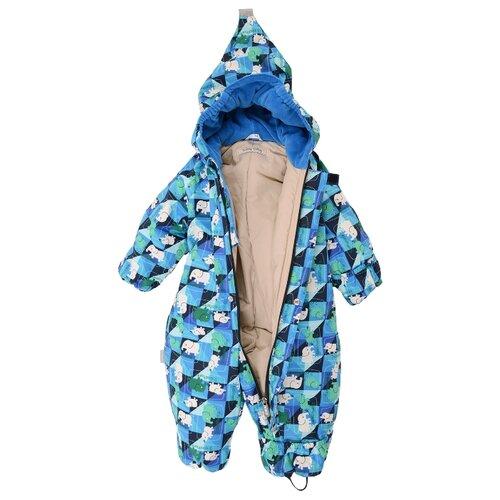 Купить Комбинезон KERRY MULTI K17704 размер 74, 6310 голубой, Теплые комбинезоны
