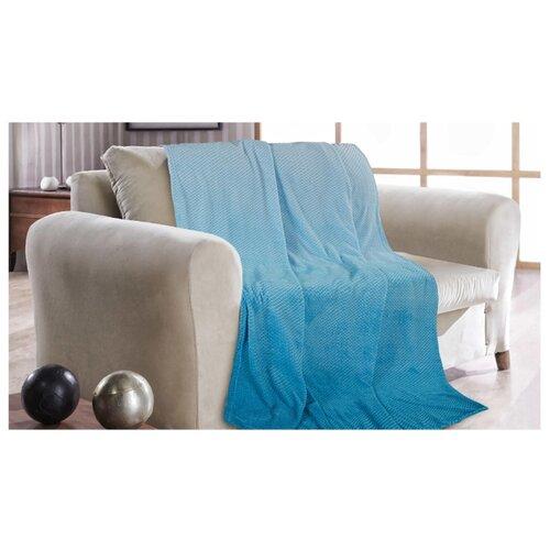 Покрывало Guten Morgen Голубая лагуна, 150 х 200 см, голубой