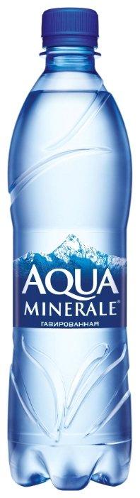 Aqua Minerale Вода питьевая Аква Минерале газированная, ПЭТ