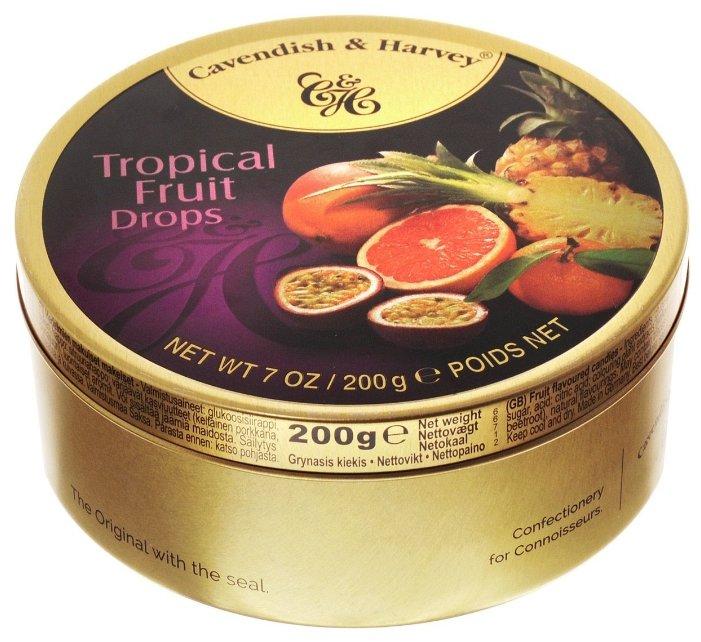 Леденцы Cavendish & Harvey Тропические фрукты 200 г
