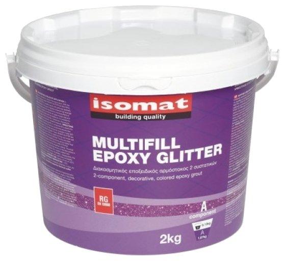Затирка Isomat Multifill-Epoxy Glitter 2 кг