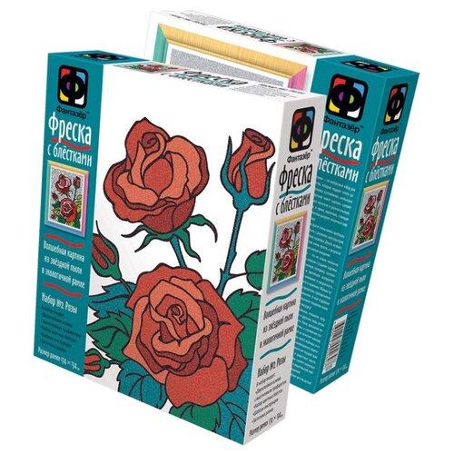 Фантазёр Фреска с блестками «Розы» (407058)Фрески<br>