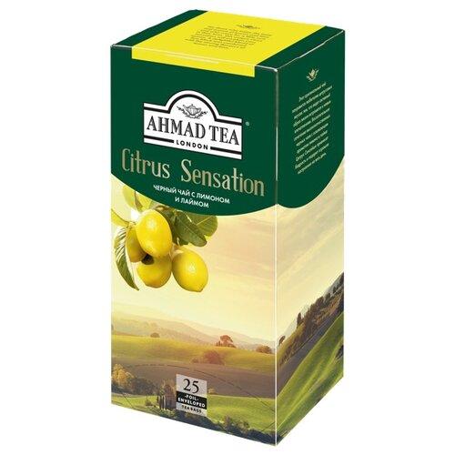 Чай черный Ahmad tea Citrus sensation в пакетиках, 25 шт.