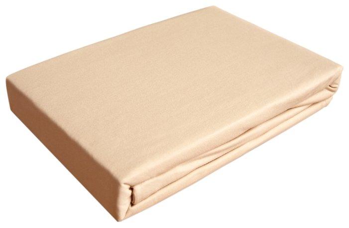 Простыня OLTEX трикотажная на резинке 160 х 200 см