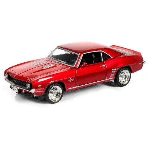 Купить Легковой автомобиль RMZ City Chevrolet Camaro SS 1969 (554026) 1:32 красный, Машинки и техника