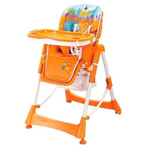 Купить Стульчик для кормления Pituso Bonito сафари оранжевый, Стульчики для кормления