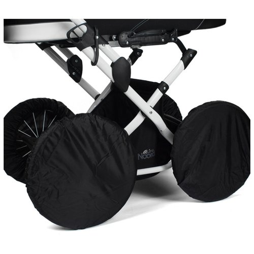 Noordline Чехлы на колеса классика 14 025 черныйАксессуары для колясок и автокресел<br>