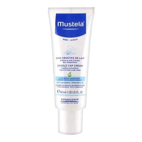 Mustela Крем для кожи головы при молочных корочках, 40 мл mustela цена в россии